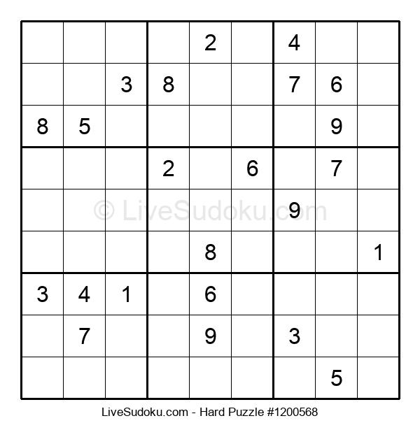 Hard Puzzle #1200568