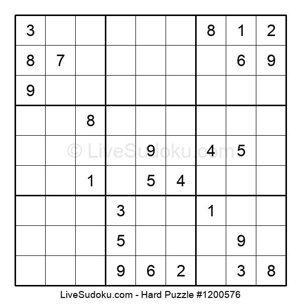 Hard Puzzle #1200576
