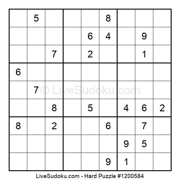 Hard Puzzle #1200584