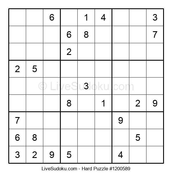 Hard Puzzle #1200589