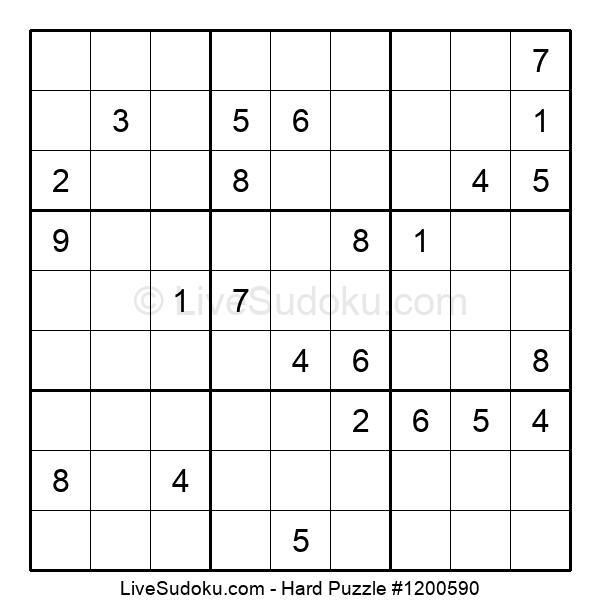 Hard Puzzle #1200590