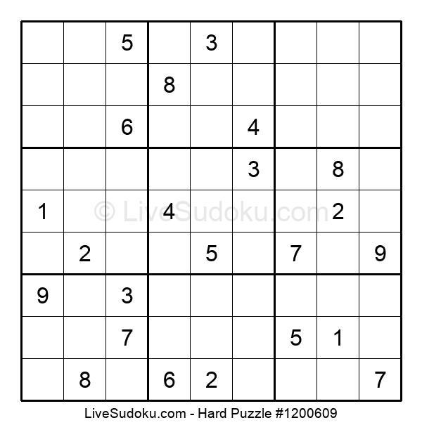 Hard Puzzle #1200609