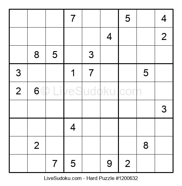 Hard Puzzle #1200632