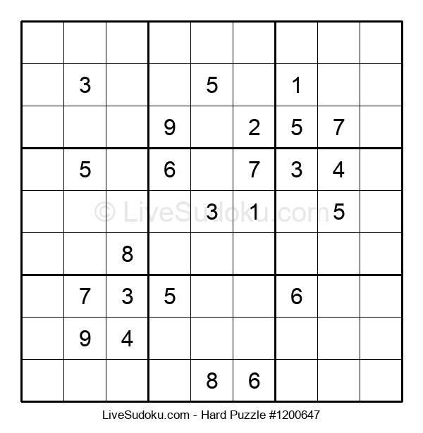 Hard Puzzle #1200647