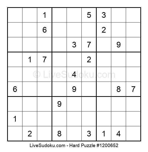 Hard Puzzle #1200652