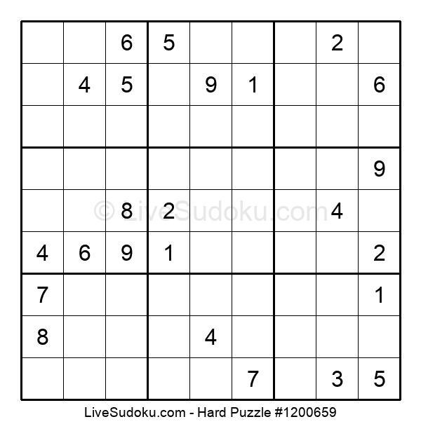 Hard Puzzle #1200659