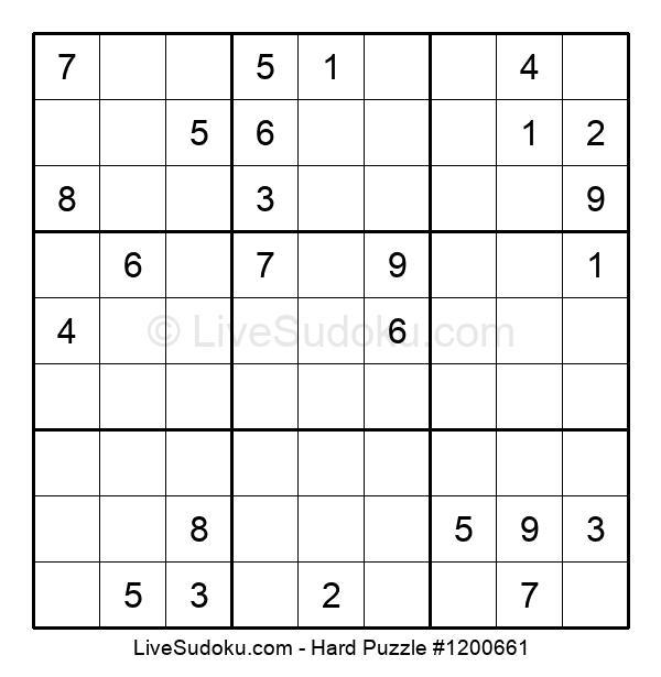 Hard Puzzle #1200661
