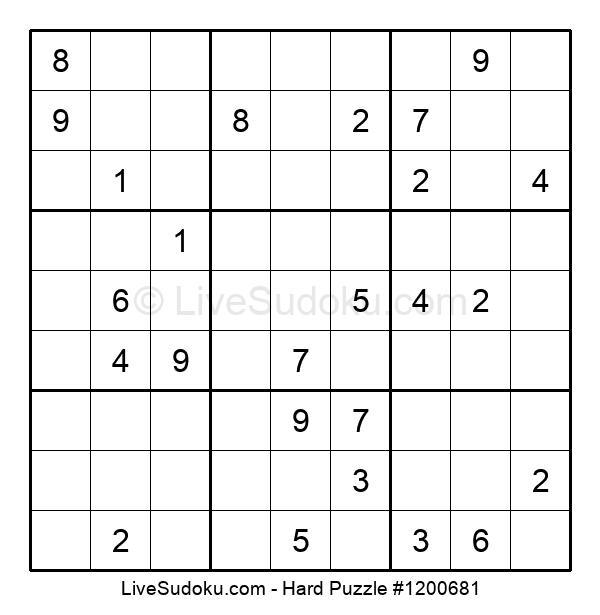 Hard Puzzle #1200681