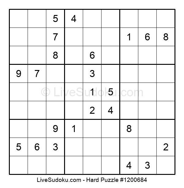 Hard Puzzle #1200684