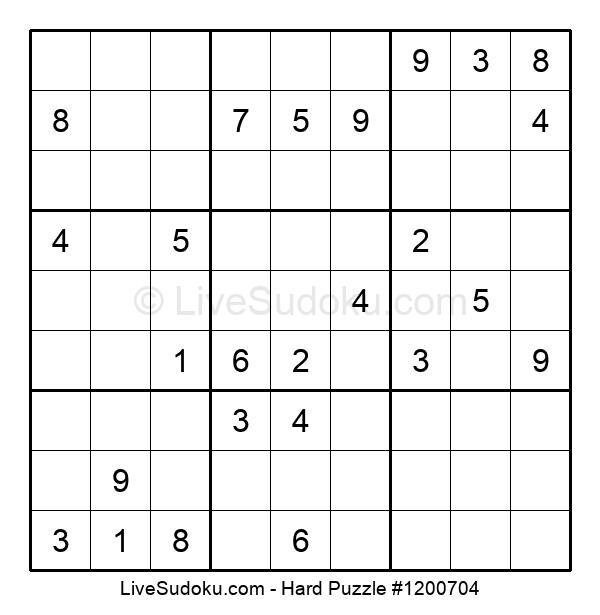 Hard Puzzle #1200704