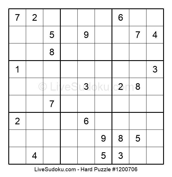 Hard Puzzle #1200706