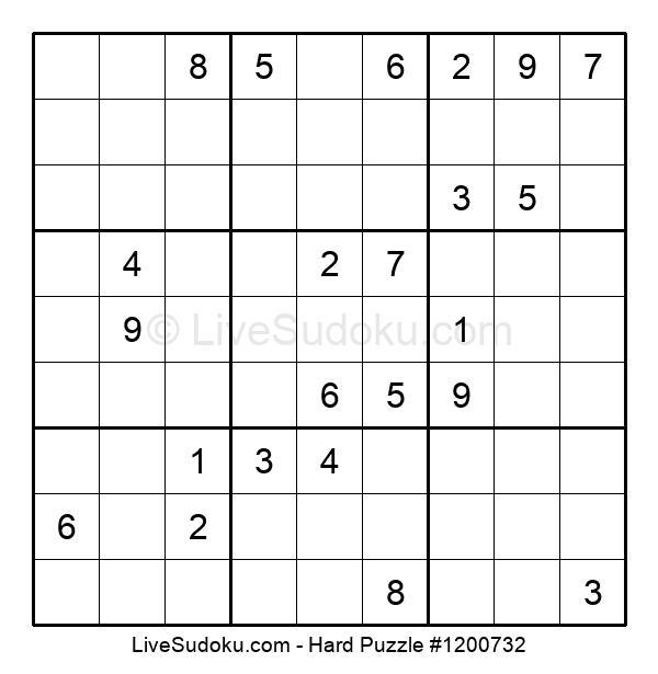 Hard Puzzle #1200732