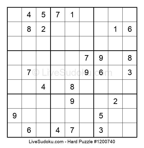 Hard Puzzle #1200740