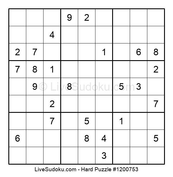 Hard Puzzle #1200753