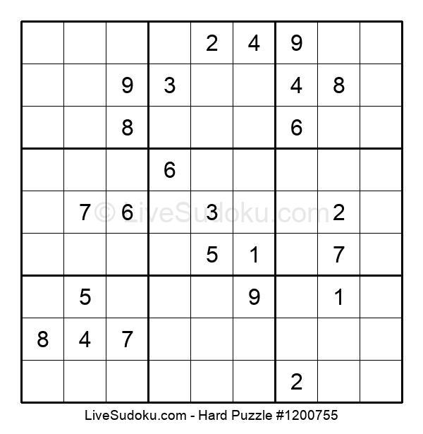 Hard Puzzle #1200755