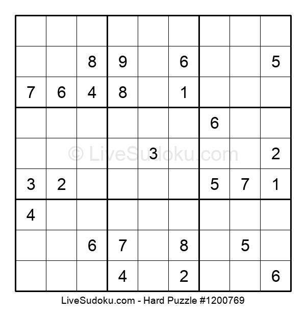 Hard Puzzle #1200769