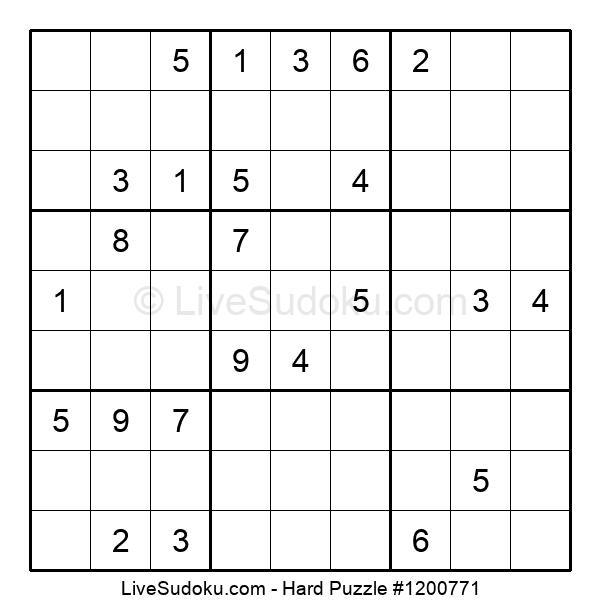 Hard Puzzle #1200771