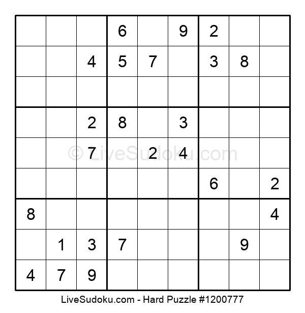 Hard Puzzle #1200777
