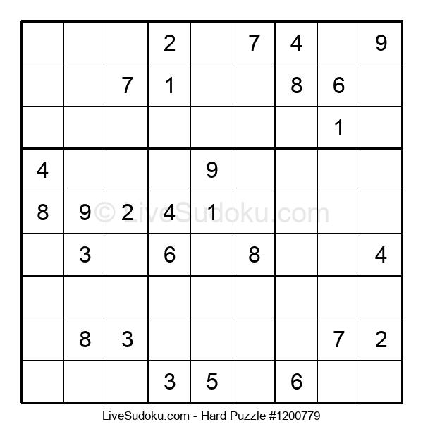 Hard Puzzle #1200779