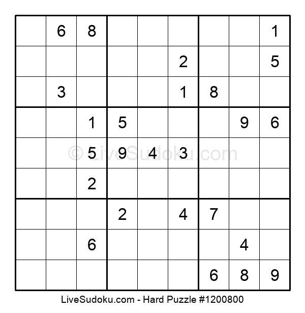Hard Puzzle #1200800