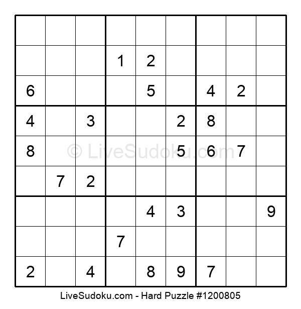 Hard Puzzle #1200805