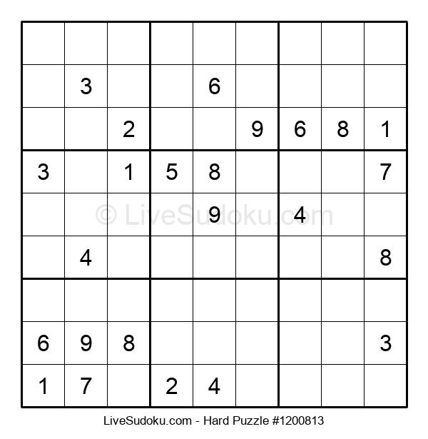 Hard Puzzle #1200813