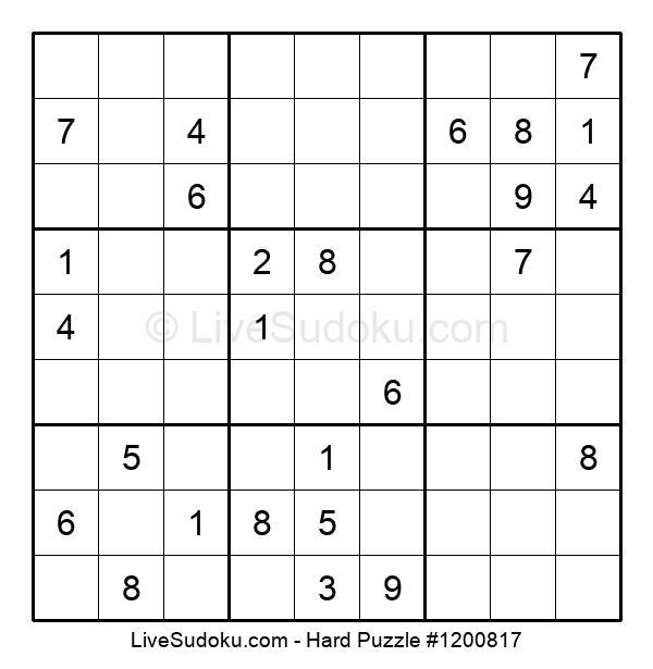 Hard Puzzle #1200817