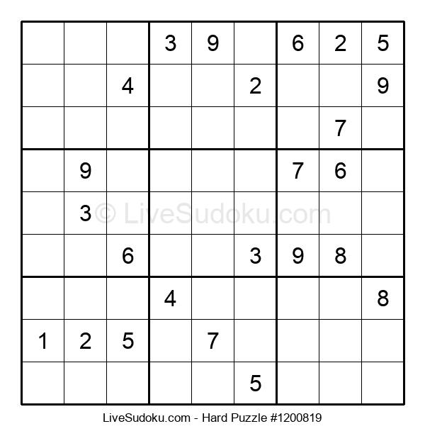 Hard Puzzle #1200819