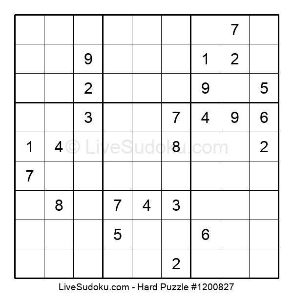 Hard Puzzle #1200827