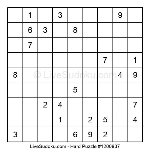 Hard Puzzle #1200837