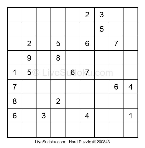 Hard Puzzle #1200843