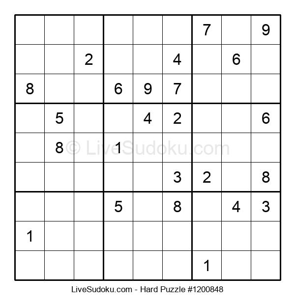 Hard Puzzle #1200848
