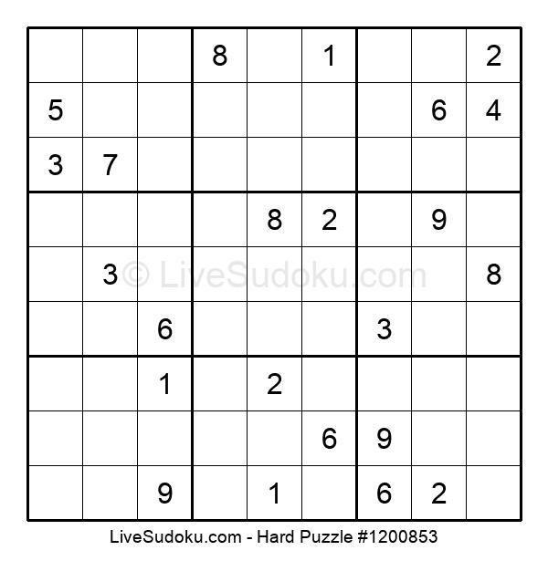 Hard Puzzle #1200853
