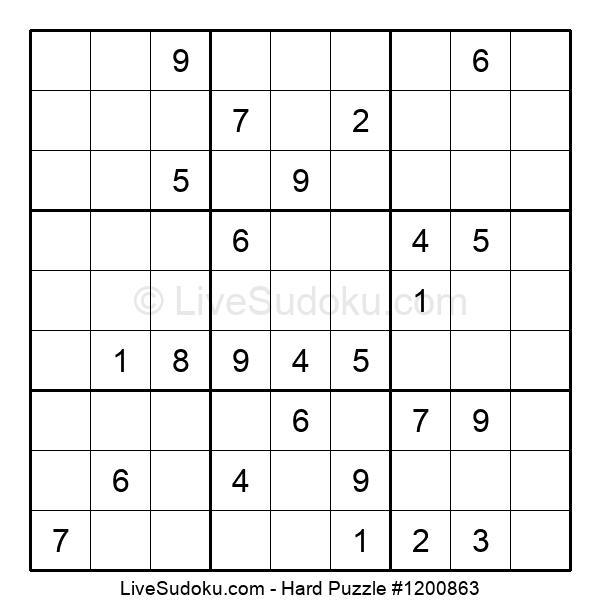 Hard Puzzle #1200863