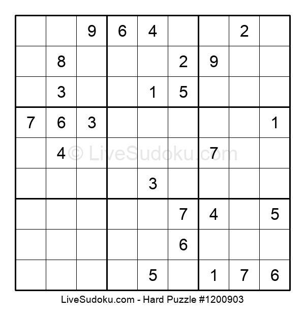 Hard Puzzle #1200903