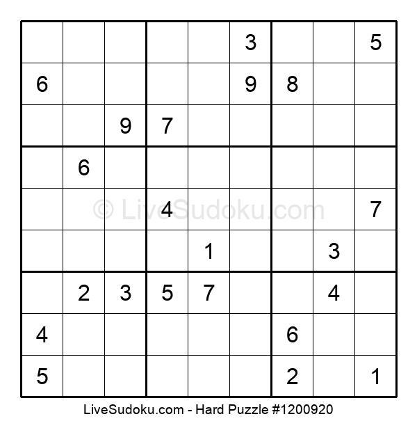 Hard Puzzle #1200920