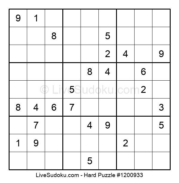 Hard Puzzle #1200933
