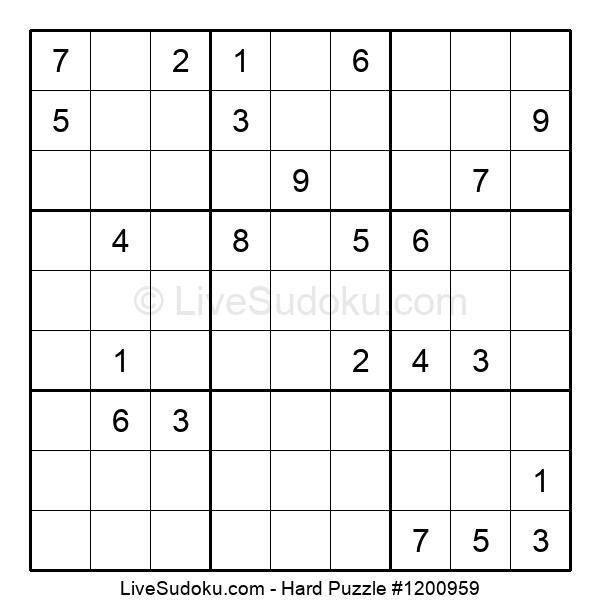 Hard Puzzle #1200959