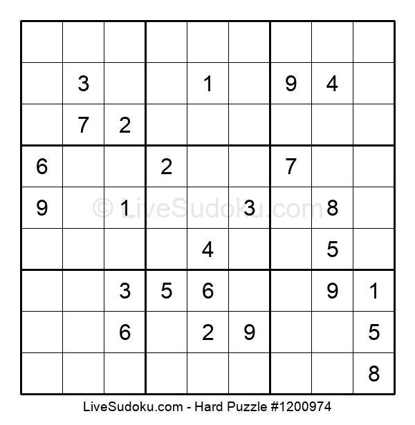 Hard Puzzle #1200974