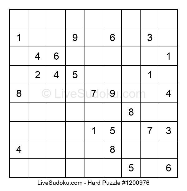 Hard Puzzle #1200976