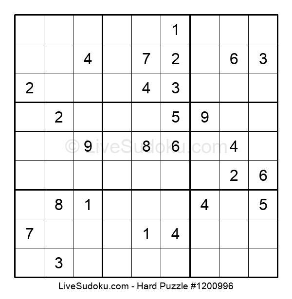 Hard Puzzle #1200996