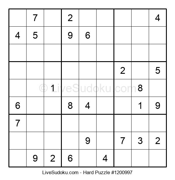 Hard Puzzle #1200997