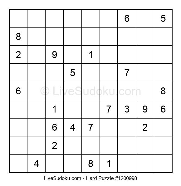 Hard Puzzle #1200998