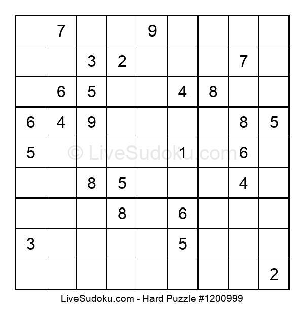 Hard Puzzle #1200999