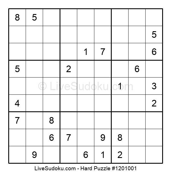 Hard Puzzle #1201001