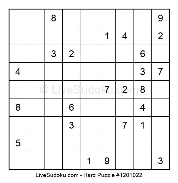 Hard Puzzle #1201022