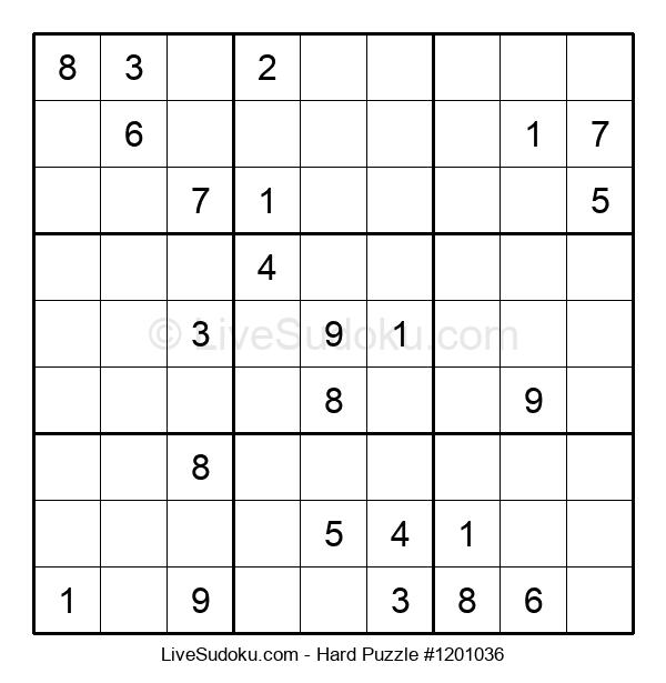 Hard Puzzle #1201036