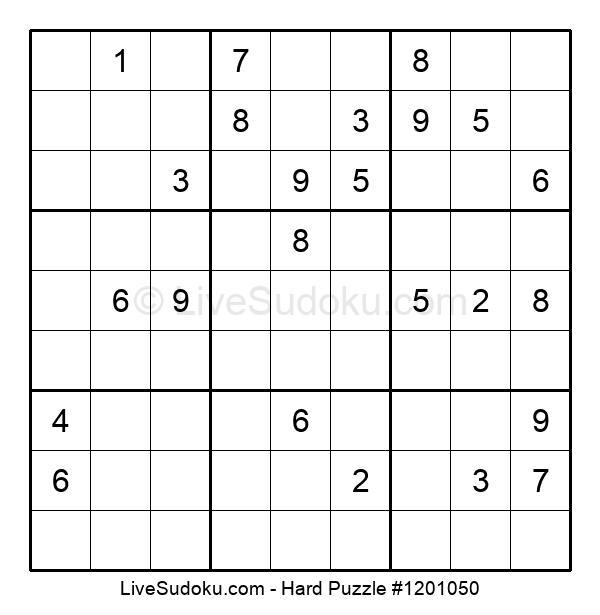 Hard Puzzle #1201050