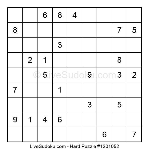 Hard Puzzle #1201052