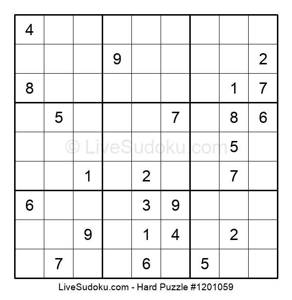 Hard Puzzle #1201059